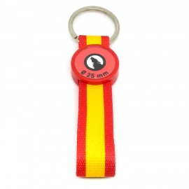 Acrylic Keychain Spain Flag
