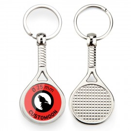 Tennis Racket Keychain