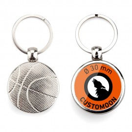 Basketball Ball Keychain