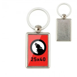 Plain Keychain 25x40 1 Side