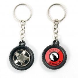 Porte-clés roue de pneu