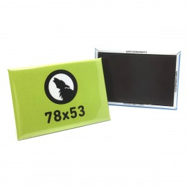 Rectangular Metal Magnet 78x53