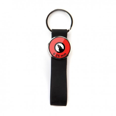 Keychain Silicon Band