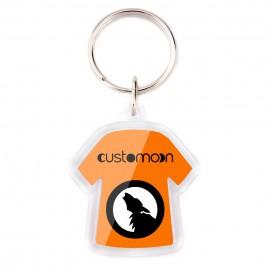 Keychain Plastic T-shirt
