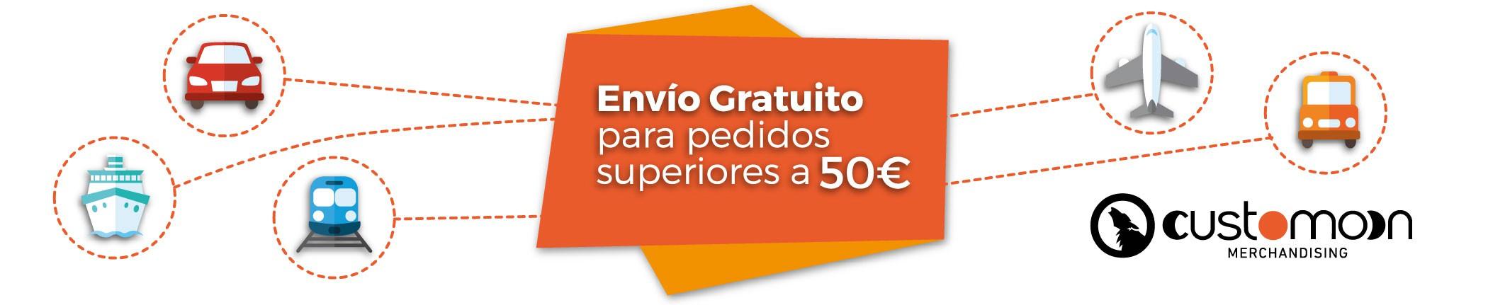 Envío gratuito para compras superiores a 50 euros